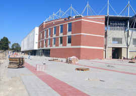 The progress of the works at the City Stadium in Łódź - Mosty Łódź S.A.